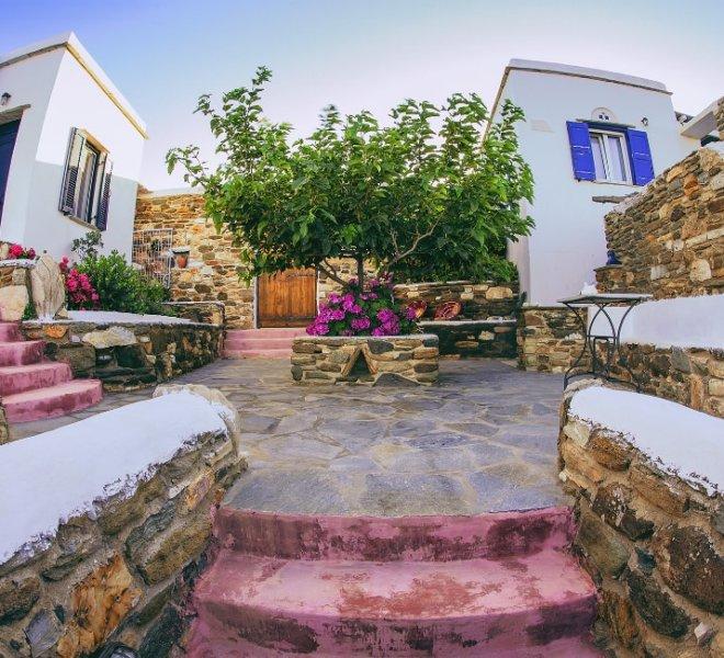 Castria studios courtyard